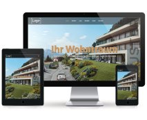 Immobilien Webseite