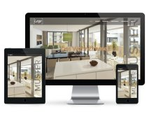 Vorlage Immobilien Website
